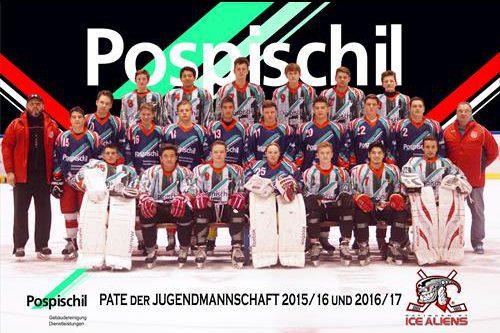 2015-10.26, Mannschaftsfoto Jugend Pospischil (Benedikt Kunatzki)