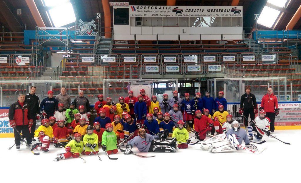 Das Eishockey-Camp 2016 der Ice Aliens!