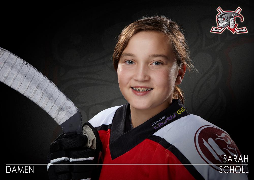U16 Nationalspielerin Sarah Jasmin Scholl