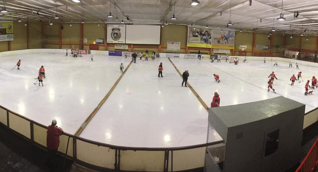 Sieg und Niederlage für die Kleinschüler der Ice Aliens in Troisdorf