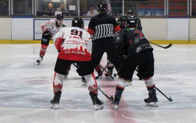 Ice Aliens verlieren mit Rumpfkader gegen Diez-Limburg mit 5:8