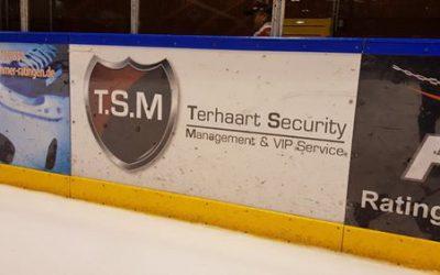 T.S.M & VIP Service neuer Sponsor bei den Ice Aliens