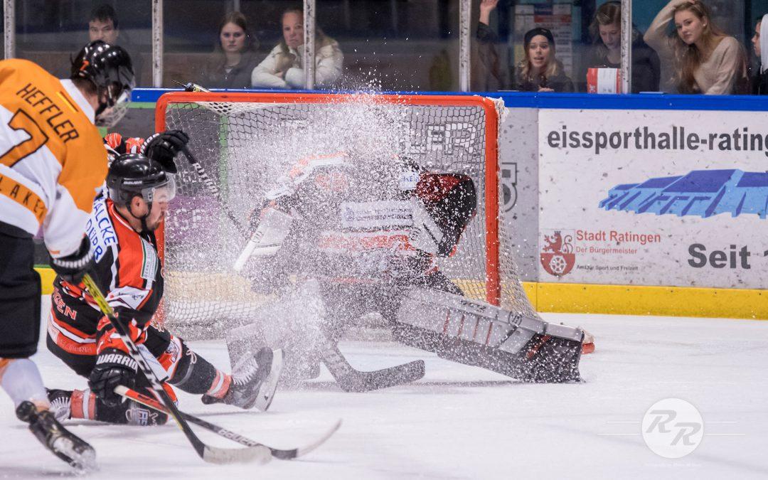 Ice Aliens verschenken das Spiel gegen Dinslaken