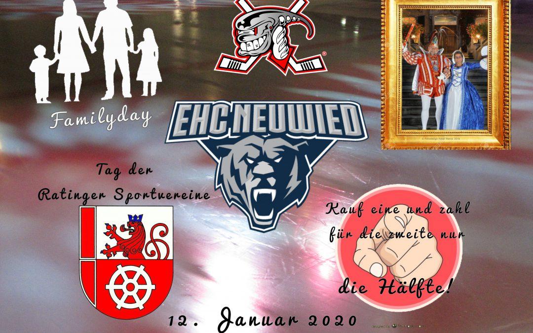 Viel los in der Eissporthalle beim Spiel gegen die Neuwieder Bären