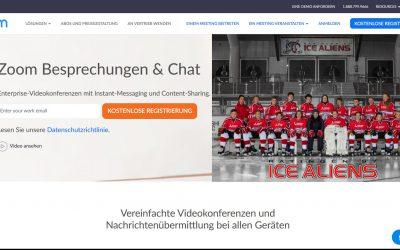 Ice Aliens Nachwuchs beginnt online-Training