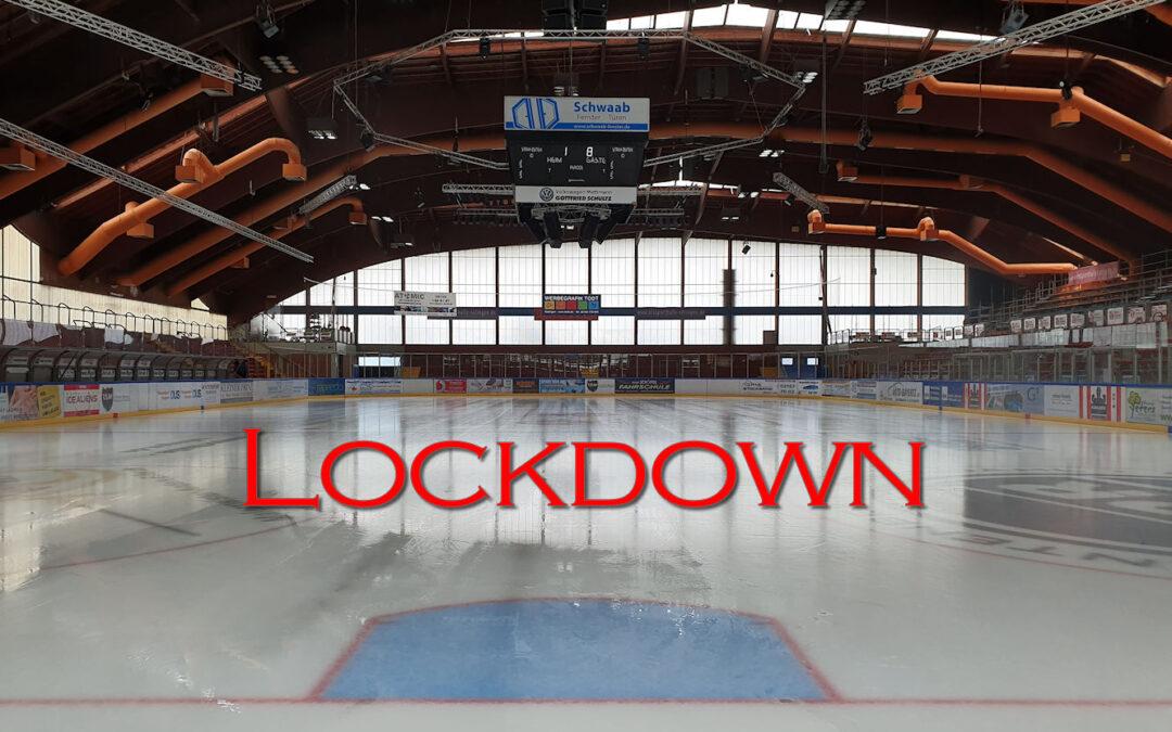 Lockdown trifft auch die Ice Aliens