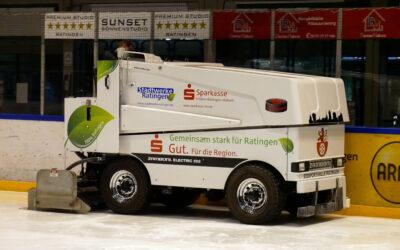 Stadtwerke Ratingen und KomMITT bleiben auch 2021/2022 Partner der Ice Aliens