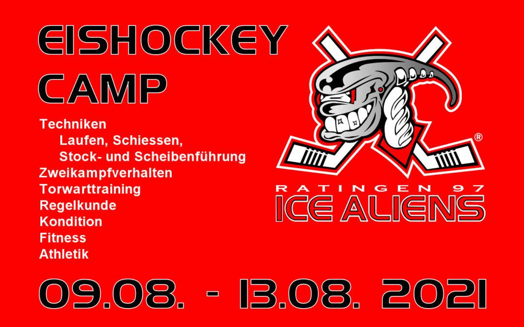 Eishockey Camp der Ice Aliens wieder mit großer Beteiligung