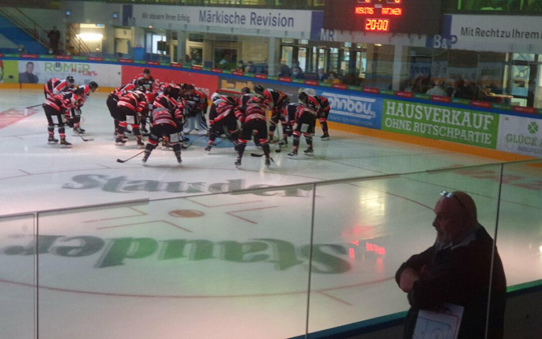 Ice Aliens zeigen starke Moral bei der 8:5 Niederlage in Essen