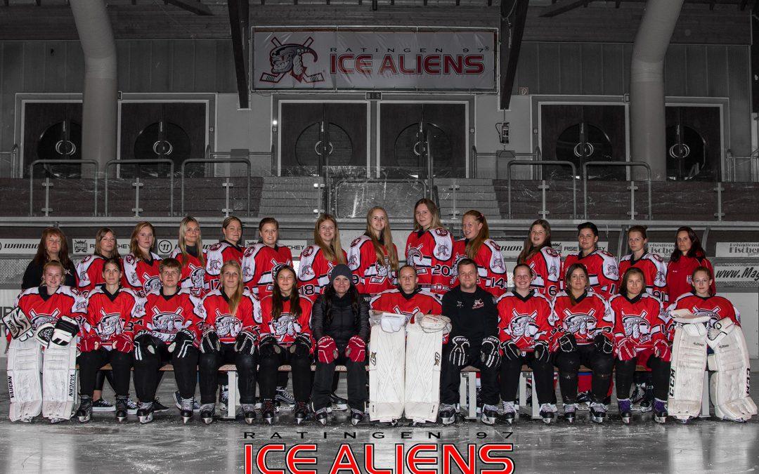Herbe Niederlage in Köln: Ice Aliens Damen verlieren 10:2