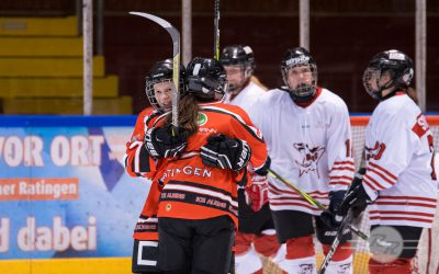 Ice Aliens Damen starten mit 1:3 Niederlage in die 2. Liga Nord