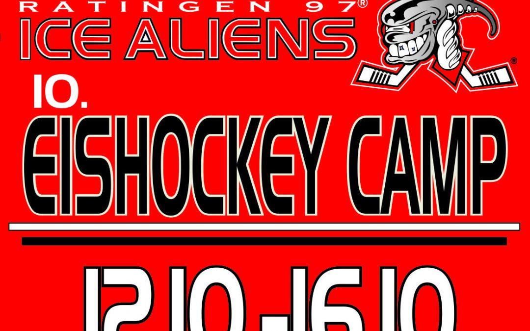 Eishockey Camp der Ice Aliens ist fast komplett ausgebucht Mini Aliens trainieren auch zu Corona Zeiten