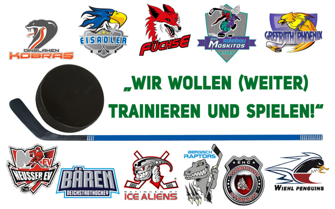 Gemeinsame Erklärung der Vereine der Eishockey Regionalliga West